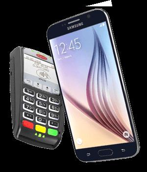NFC telefoon draadloos betalen met Samsung